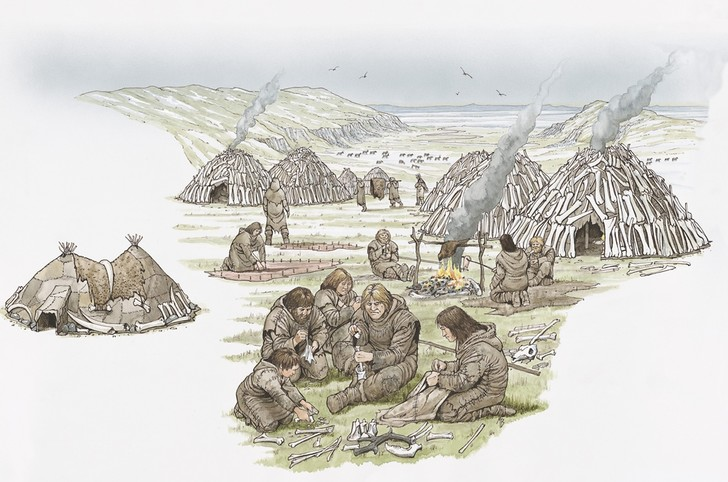 Фото №1 - Неандертальцы умели добывать огонь