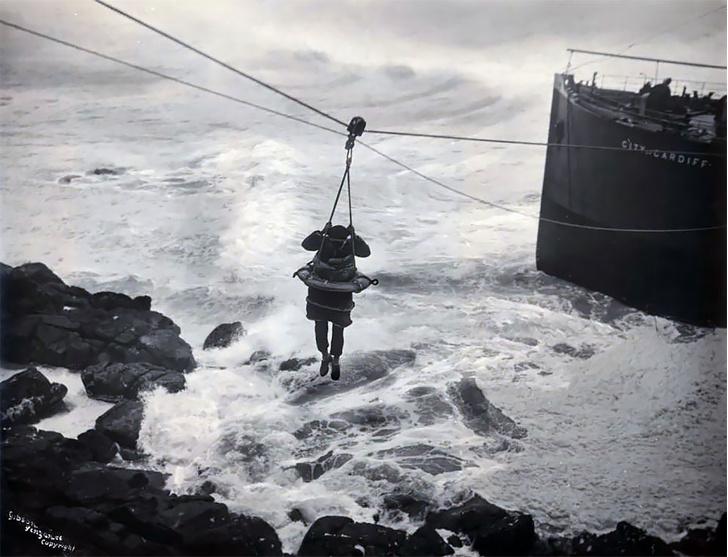 Фото №13 - Не повезло: старинные фотографии кораблекрушений