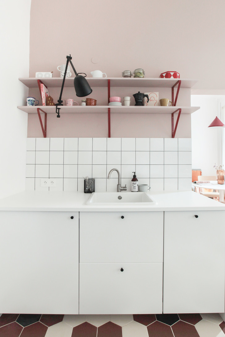 Фото №5 - Маленькая квартира в розовых тонах в Варшаве