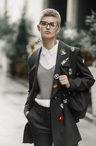 Фото №3 - Все оттенки серого: новая коллекция Ольги Сказкиной