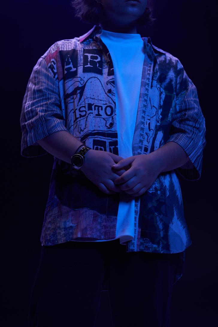 Фото №3 - Electro vibe с Saluki. Разговор о музыке настоящего, моде и Цое