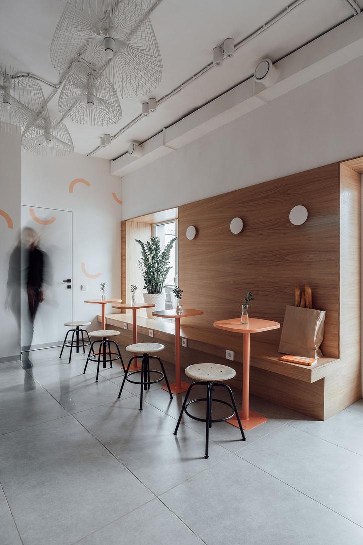 Фото №2 - Кофейня 40 м²в Калуге: проект студии Design Rocks