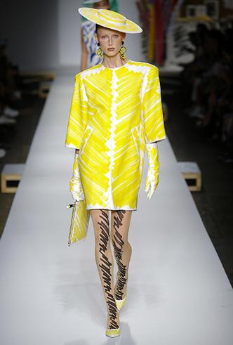 Фото №2 - Уроки fashion-иллюстрации: коллекция Moschino SS 2019