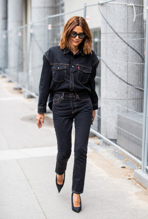 Фото №15 - С чем носить джинсы скинни сегодня: модные советы и удачные сочетания