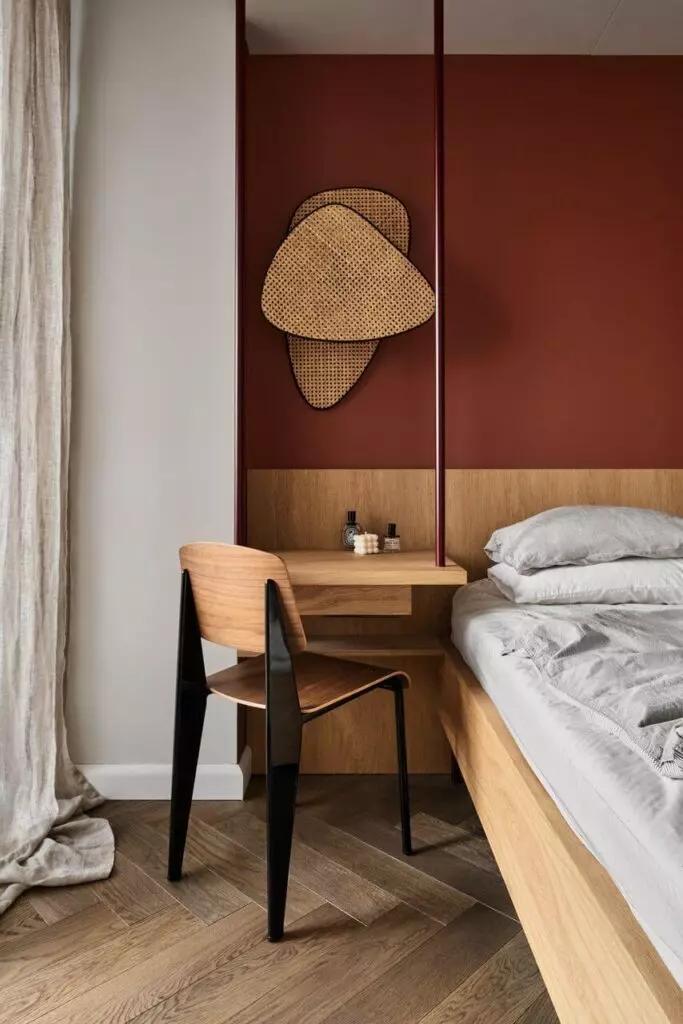 Фото №9 - Квартира в Варшаве с приглушенными цветовыми акцентами