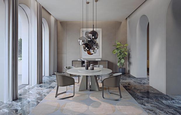 Фото №1 - Новый стол Milano итальянской марки Turri