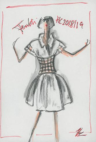 Фото №2 - Жизнь в искусстве: Fendi Couture FW18