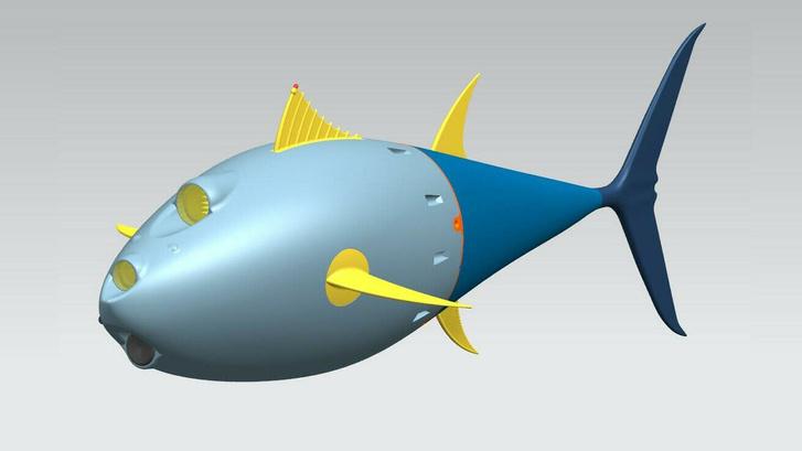 Фото №1 - В России создали первого подводного биоморфного робота