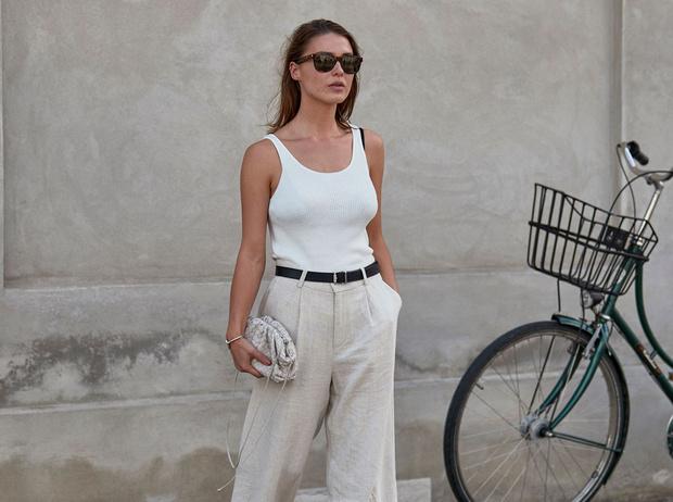 Фото №1 - Как носить белый цвет летом: 4 стильных приема