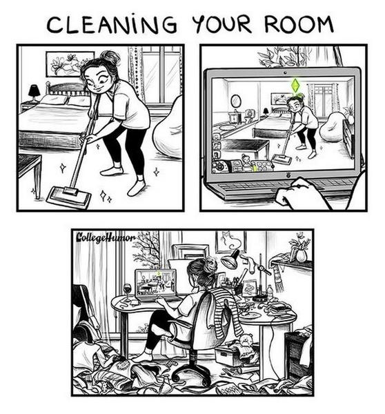 Фото №5 - 25 жизненных и очень смешных мемов по The Sims
