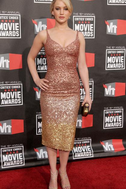 Дженнифер Лоуренс кинонаграда Critic's Choice Movie Awards