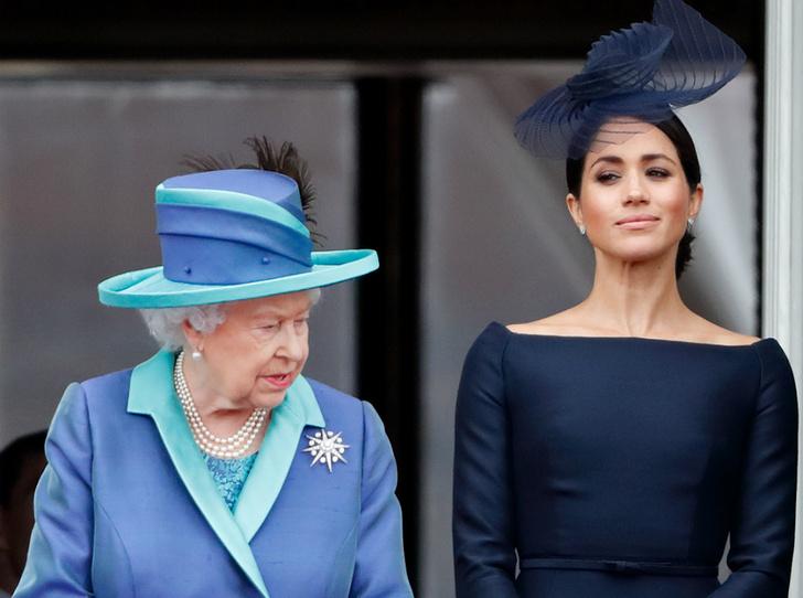 Фото №1 - Герцогиня Коварство: почему Меган решила провести лето с Королевой (на самом деле)
