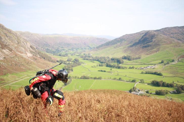 Фото №1 - В Великобритании испытали реактивный костюм для медиков