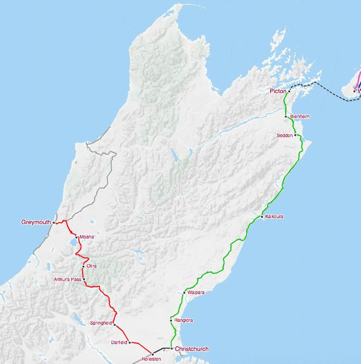 Фото №6 - Под стук колес: 10 самых живописных железнодорожных маршрутов мира