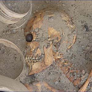 Фото №1 - Археологи нашли фальшивый глаз
