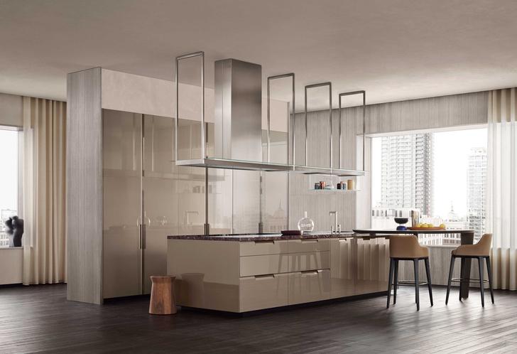 Фото №1 - Shape: новая стильная кухня Poliform