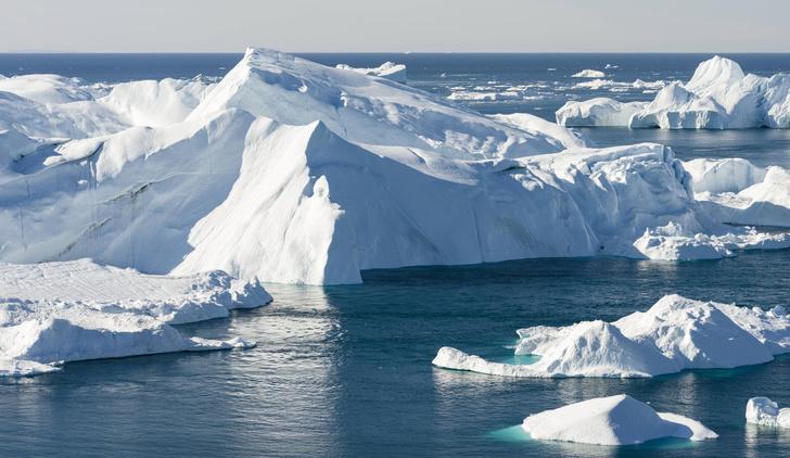 Фото №1 - Над ледниками в Гренландии впервые прошел дождь, а не снег