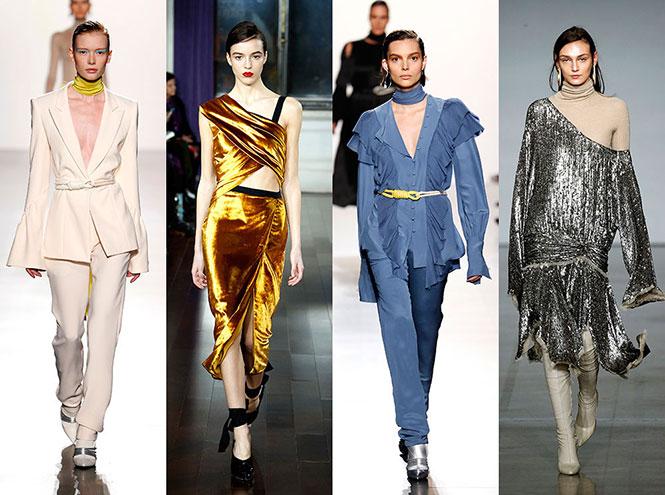 Фото №1 - 15 трендов осени и зимы 2017/18 с Недели моды в Нью-Йорке