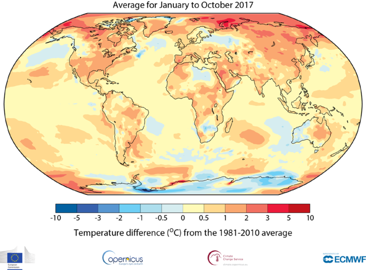 Фото №1 - Метеорологи подводят климатические итоги года