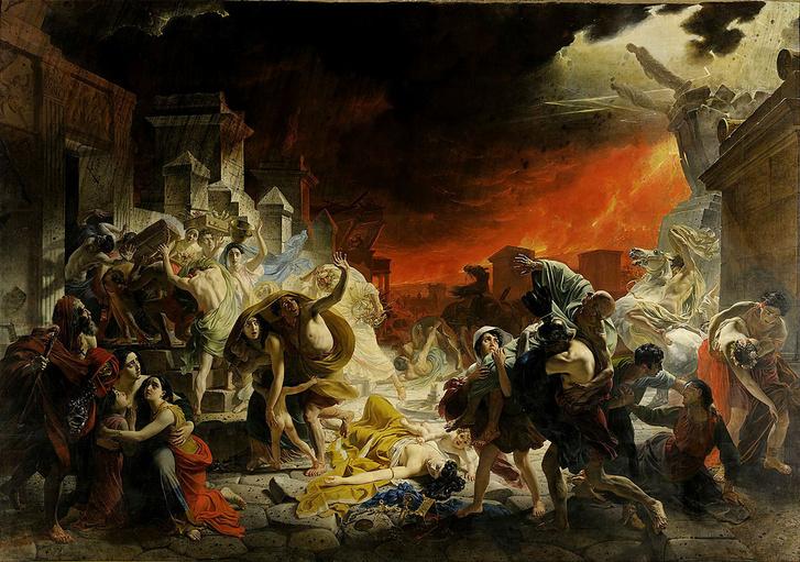 Фото №1 - 1941 год назад... Извержение Везувия уничтожило Помпеи