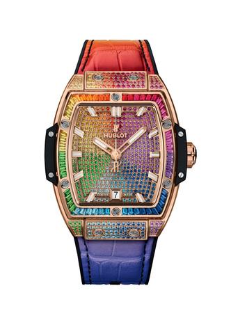 Фото №5 - Все цвета радуги: Hublot представил коллекцию Spirit of Big Bang Rainbow