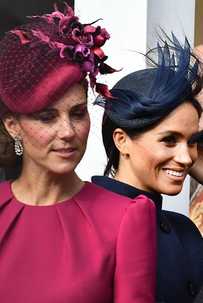 Миддлтон и Маркл не получили титул принцессы по велению королевы