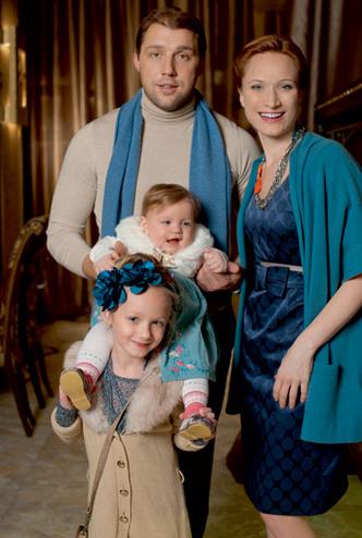 Фото №2 - Танец для четверых: Мария Киселева и ее семья