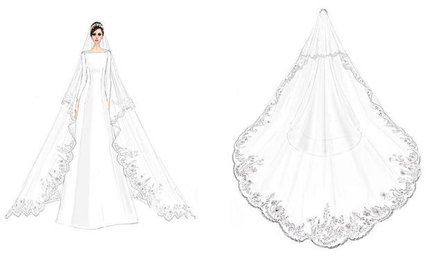 Фото №19 - От Одри Хепберн до Меган Маркл: знаменитые невесты в платьях Givenchy