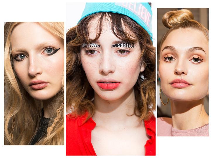 Фото №1 - 11 трендов макияжа весны-лета 2018 с недели моды в Нью-Йорке