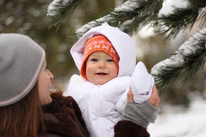 Фото №1 - Как гулять зимой с грудничком