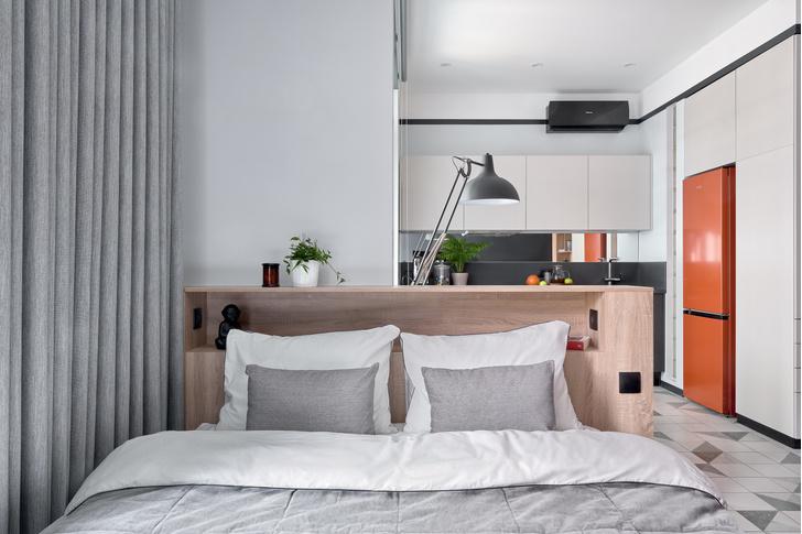 Фото №6 - Стильные апартаменты 31 м² для сдачи в аренду в Москве