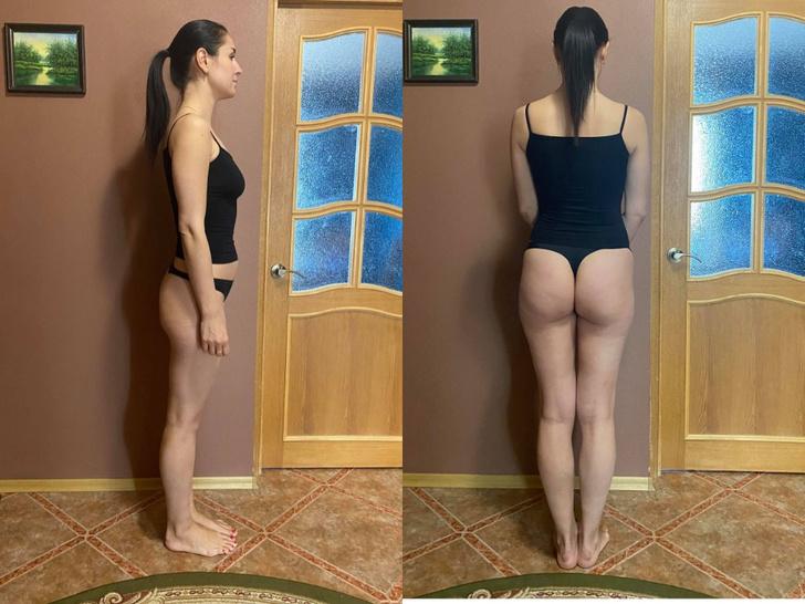 Фото №2 - Девушка 31 день приседала по 100 раз— как изменилось ее тело