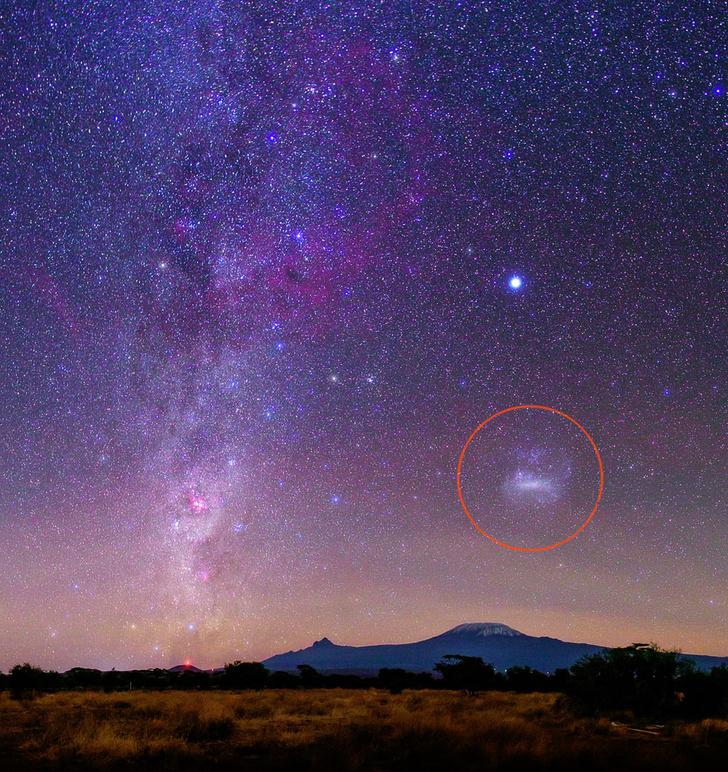 Фото №1 - Сколько галактик может видеть человеческий глаз?