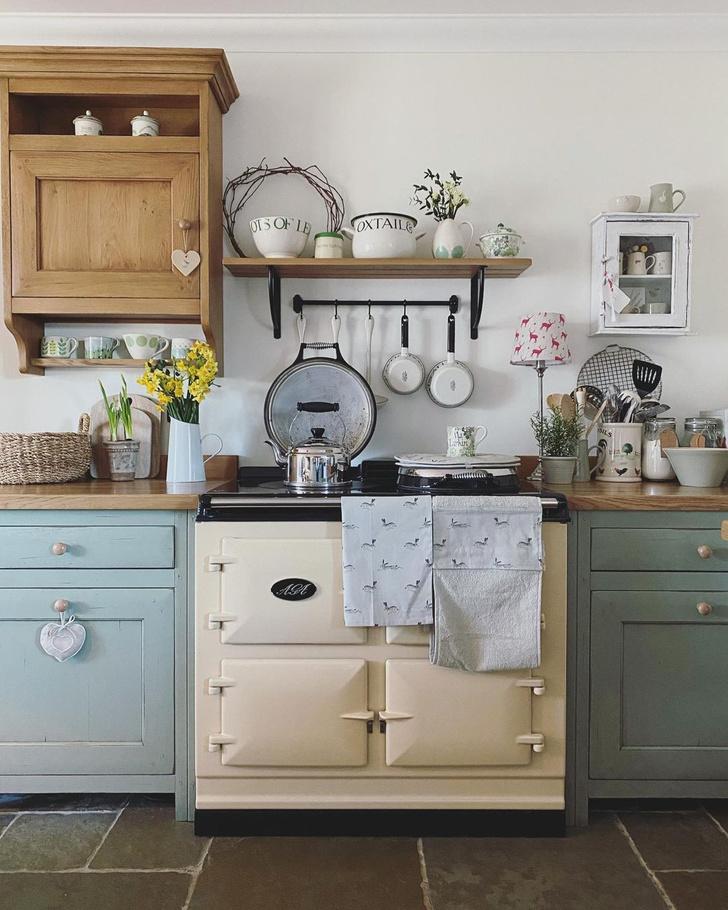 Фото №2 - Кухня в английском стиле: 6 полезных советов