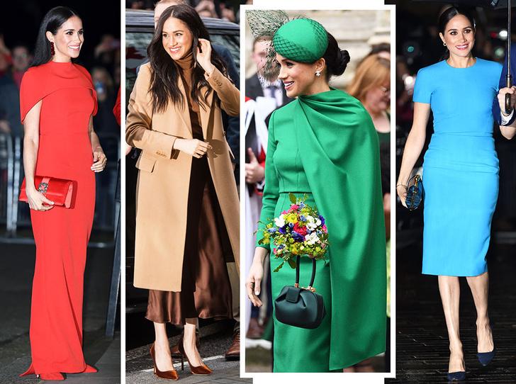 Фото №1 - Прощай, Корона: лучшие образы герцогини Меган в 2020 году