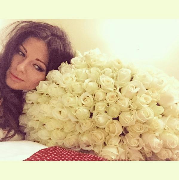 Фото №20 - Звездный Instagram: Знаменитости и цветы