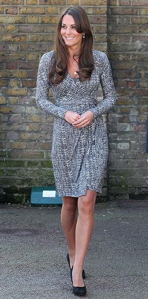 Фото №10 - В модном положении: две беременности герцогини Кембриджской (сравним?)