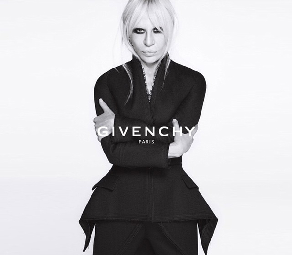 Донателла Версаче для Givenchy