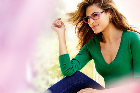 Ева Мендес (Eva Mendes), «She's in Vogue», Vogue Eyewear