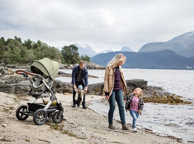 Фото №2 - Прогулки в скандинавском стиле: эксклюзивная коляска-внедорожник от Stokke®
