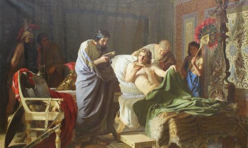 Фото №1 - Ученые Греции установили причину смерти Александра Македонского. И это не малярия или пневмония
