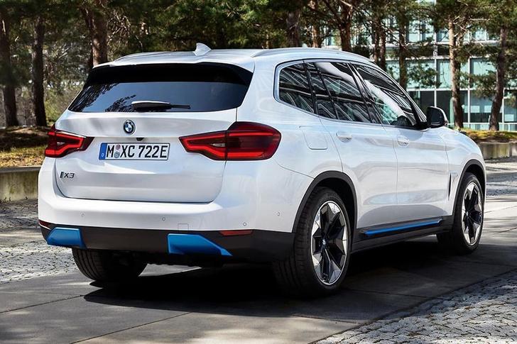 Фото №2 - Серийный электрокроссовер BMW рассекретили раньше срока