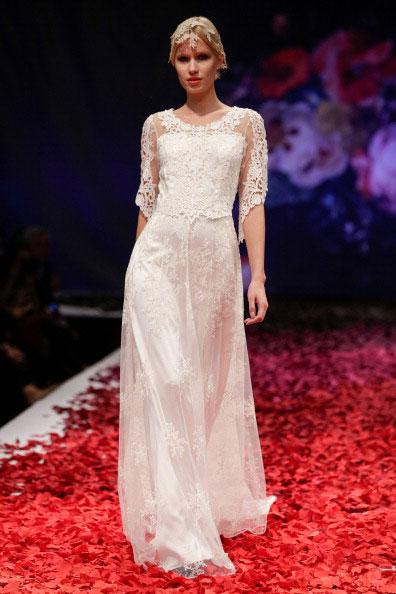 Свадебное платье Claire Pettibone осень-2014