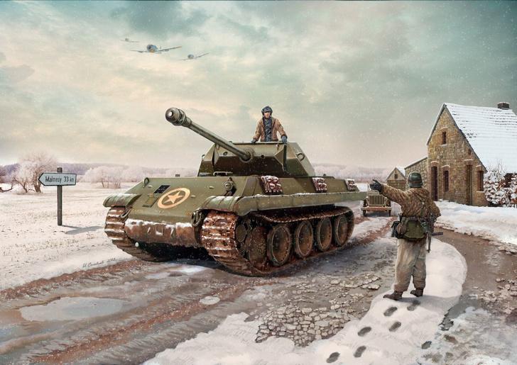 Фото №1 - Конец операции «Гриф»: как немцы в американскую униформу переодевались и что из этого вышло