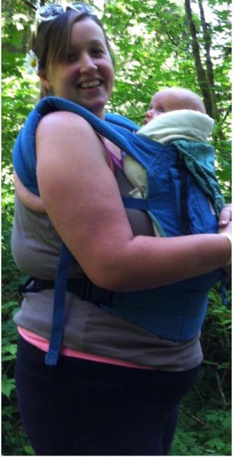Фото №2 - Женщина сбросила 60 кило после 9-х родов: фото до и после