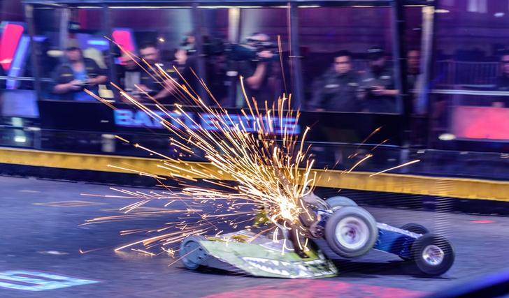 Фото №3 - Побеждает мощнейший: что такое битвы роботов и как они проходят