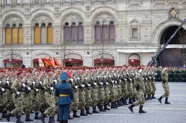 Фото №1 - В Москве прошел парад в честь 76-летия Победы