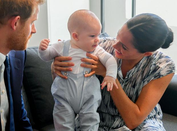 Фото №1 - Важное королевское правило, которому придется подчиняться Арчи Сассекскому (когда он вырастет)