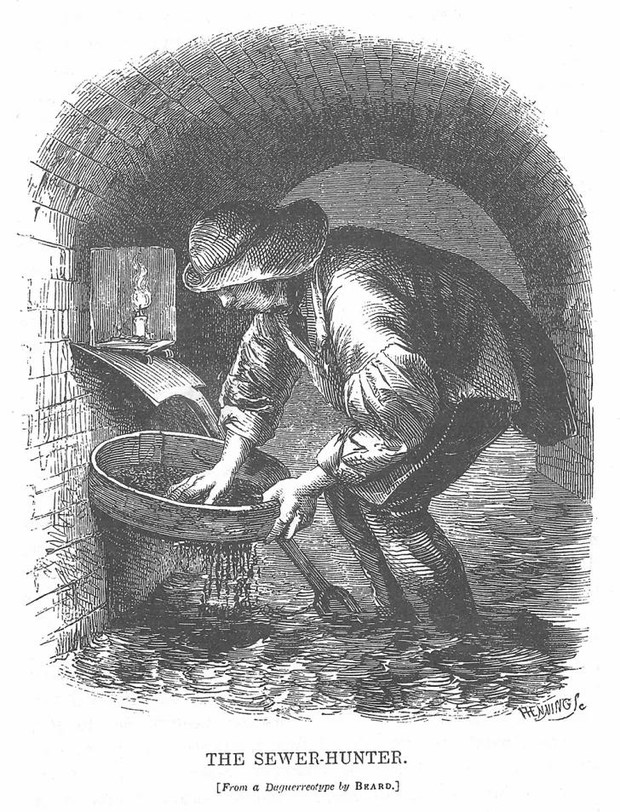 Фото №2 - Клоачный кладоискатель и еще 6 самых жутких профессий викторианской эпохи