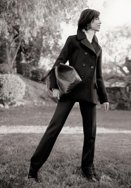Фото №5 - Шарлотта Генсбур в новой рекламной кампании Gerard Darel